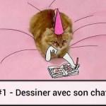 #1 – Dessin de chat détourné