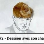 #2 – Dessin de chat détourné