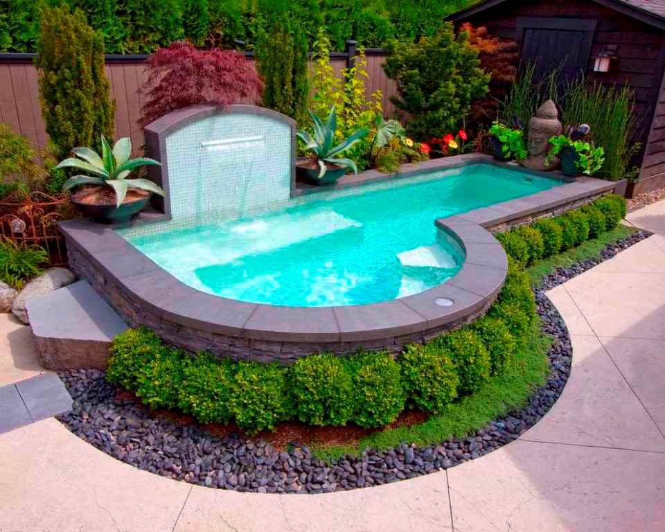 Above Ground Pool Landscaping Ideas - Deshouse on Backyard Pool Landscape Designs id=78580