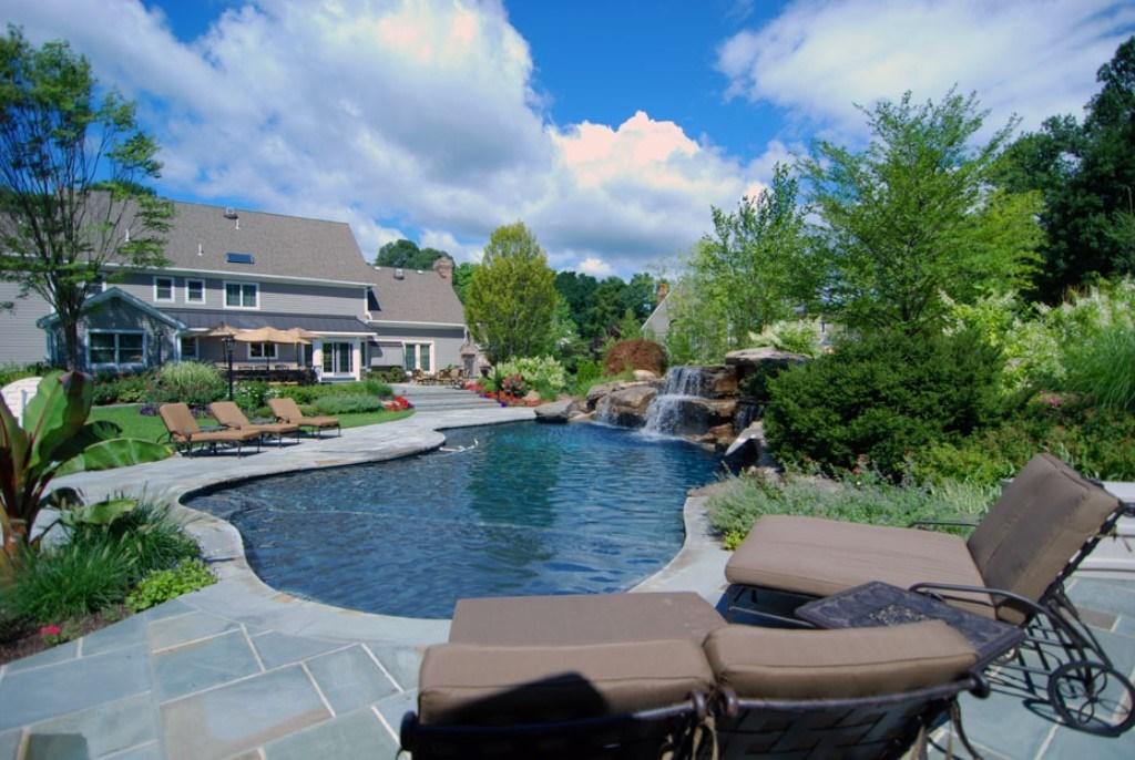 Pool Backyard Landscaping - Deshouse on Backyard Pool And Landscaping Ideas id=64835