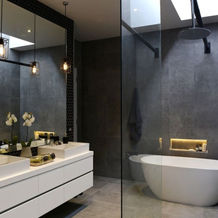 30 Small Modern Bathroom Ideas - Deshouse on Modern Small Bathroom  id=56605