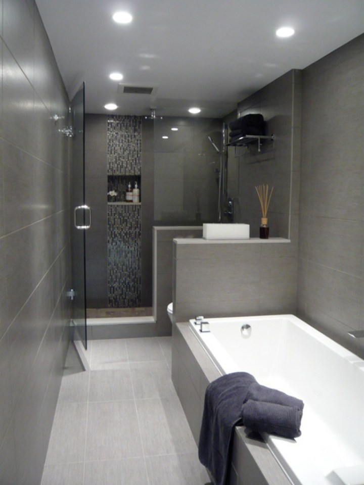 30 Small Modern Bathroom Ideas - Deshouse on Modern Small Bathroom  id=52321