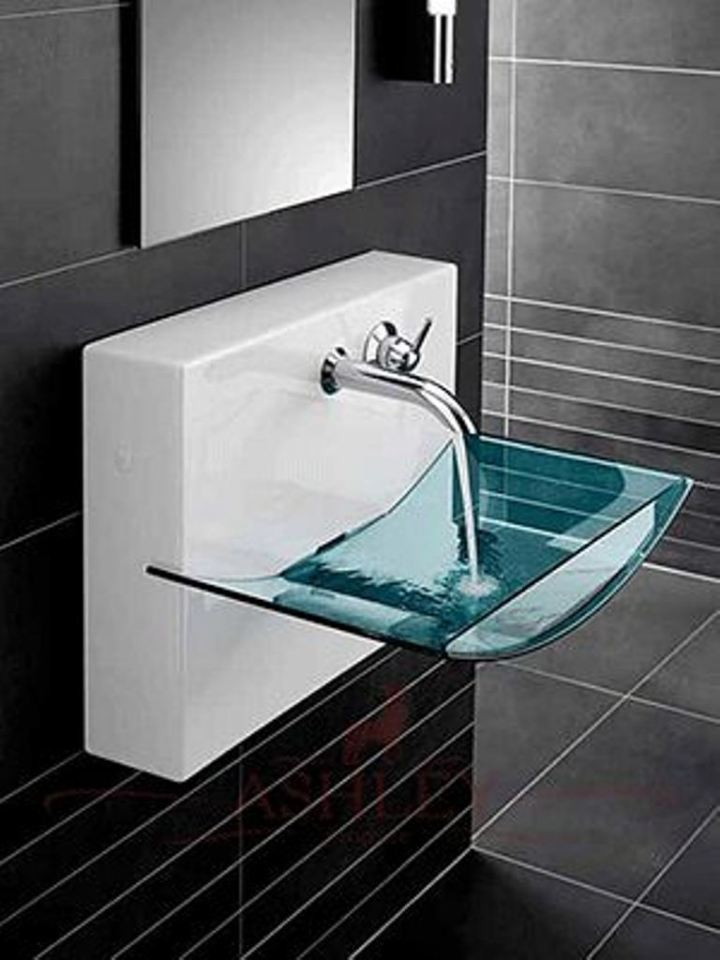 30 Small Modern Bathroom Ideas - Deshouse on Modern Small Bathroom  id=44399