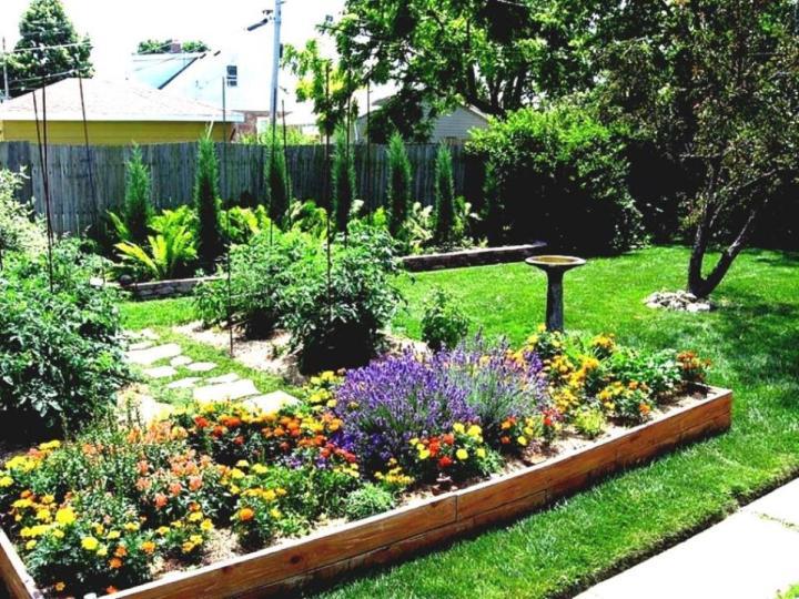 Garden Landscaping Ideas - Deshouse on Cheap Back Garden Ideas id=98129