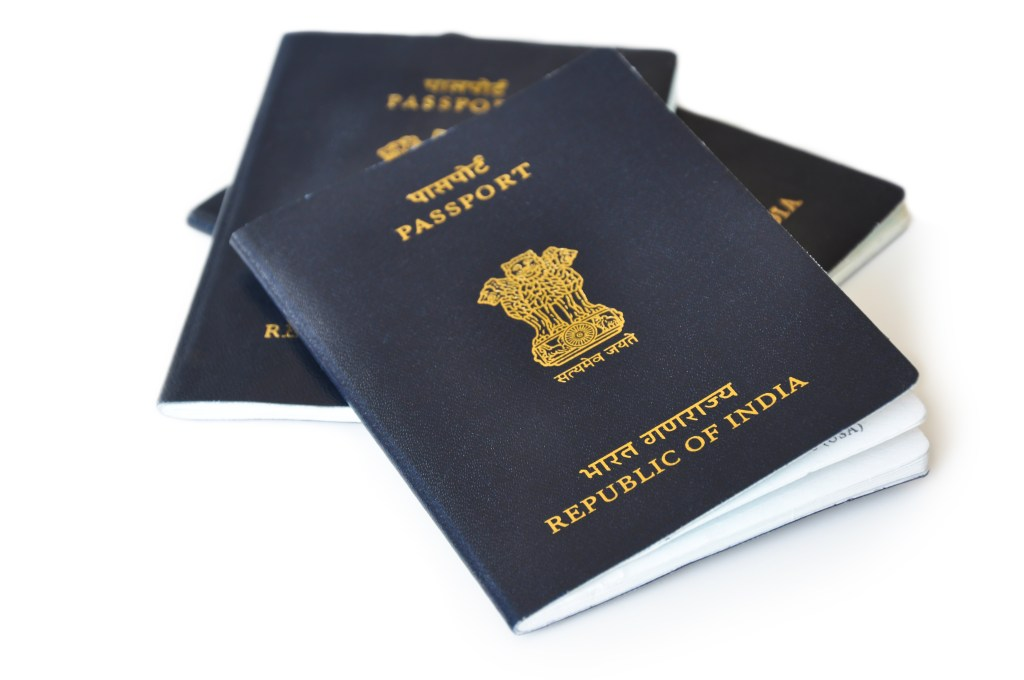 renew Indian passport in USA