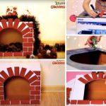 Comment Fabriquer Votre Fausse Cheminee Pour Noel
