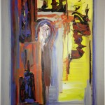 Noise-dampening painting