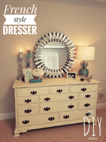 Chalk Paint french style dresser
