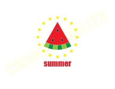 Summer Watermelon Circular
