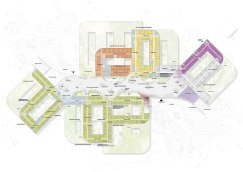 New North Zealand Hospital by C.F. Møller - Plan 1 Lobby level