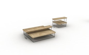 Torei Family by Luca Nichetto for Cassina - Render
