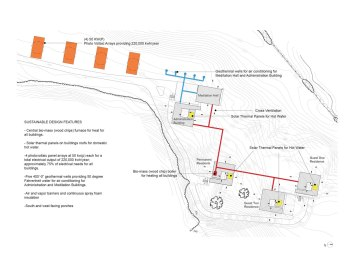 Won Dharma Center by hanrahan Meyers architects - diagram
