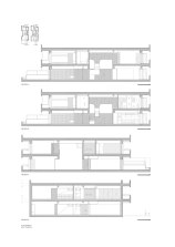 Apartamento em Braga by CORREIA/RAGAZZI ARQUITECTOS - Longitudinal Section