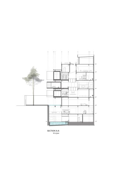 Sharifi-ha by nextoffice House Section AA