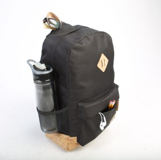 Corked Backpack in black