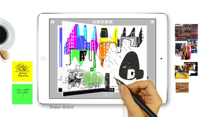 Morpholio Journal App - Artist Stellan Brand