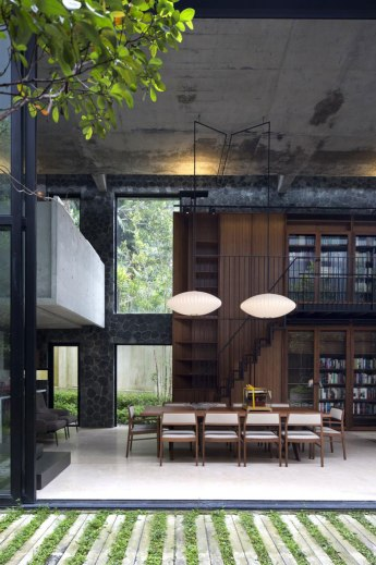 Private Library House by Unit One Design