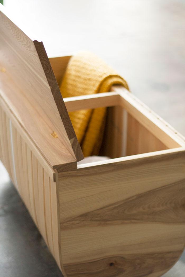 Fluyt Bench By Willow U0026 Stump Furniture Design