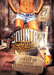 Country Festival Flyer