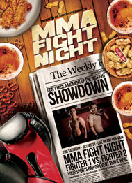 MMA Headlines Flyer