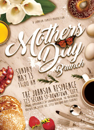 Mother's Day Brunch II Flyer