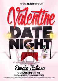Valentine Date Night Flyer