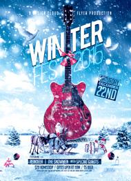 Winter Fest Flyer