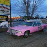 The Southern Smokehouse bbq hearse