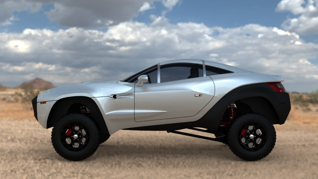 RALLY FIGHTER – Car Designed by the World