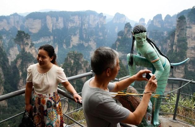 Zhangjiajie Grand Canyon was the inspiration behind James Cameron's 2009 film, Avatar  Credit: CNN