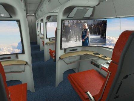 business capsule entertainment hyperloop