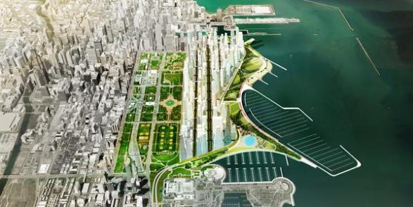 "Port Urbanism's ""Big Shift"" involves the development of new buildings. Image: Port Urbanism"