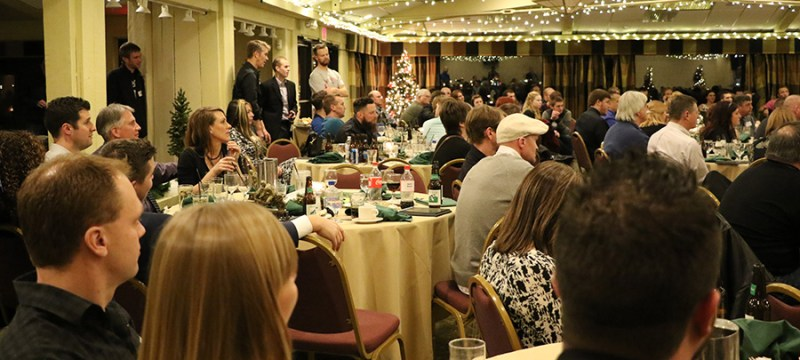 CCS racing banquet & that's just part of the full room.