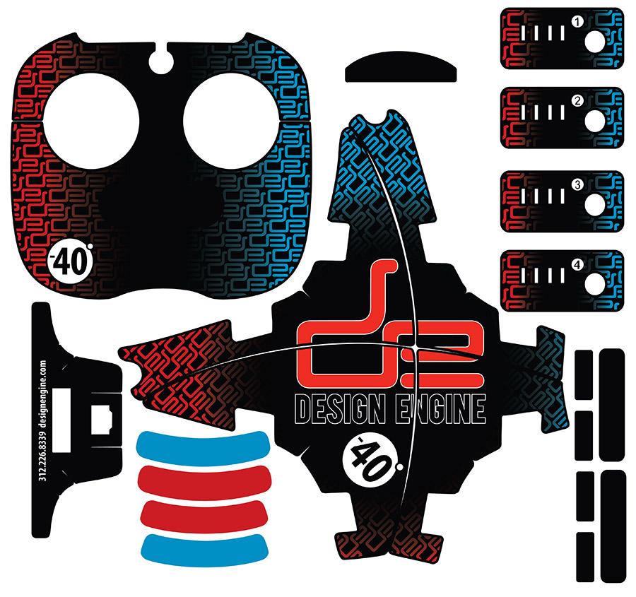 Design Engine Phantom 3 Graphics