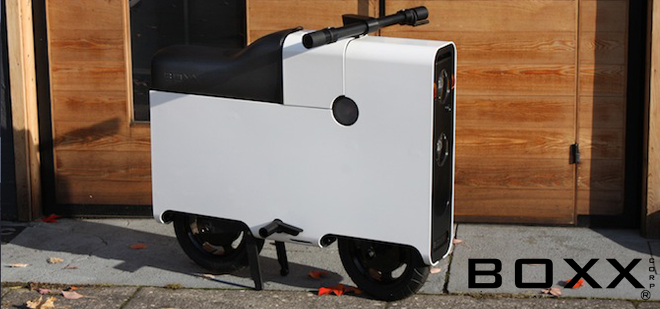 You Can Now Buy This Unique Electric Scooter Design Engine