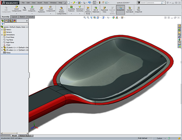 Solidworks surfacing