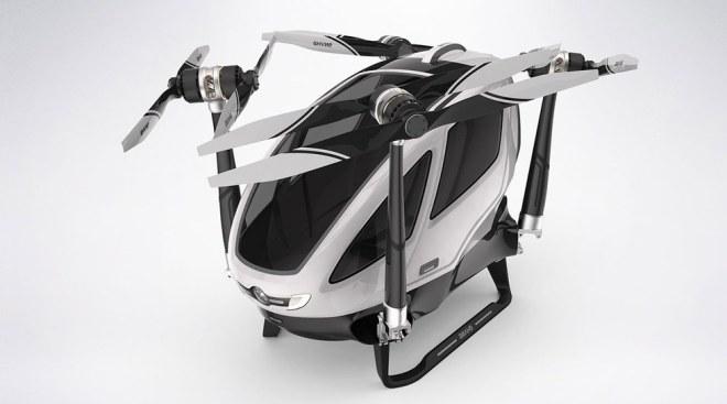 dubai taxi drone