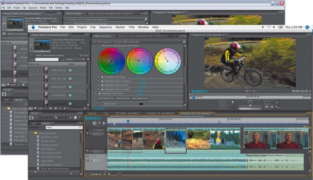 Premiere Pro Screen Shot