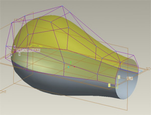 CREO ADVANCED SURFACE MODELING with SURFACE EDIT