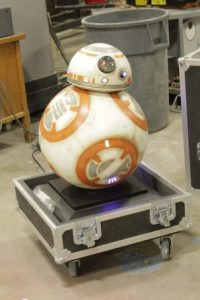 The StarWars BB8 replica