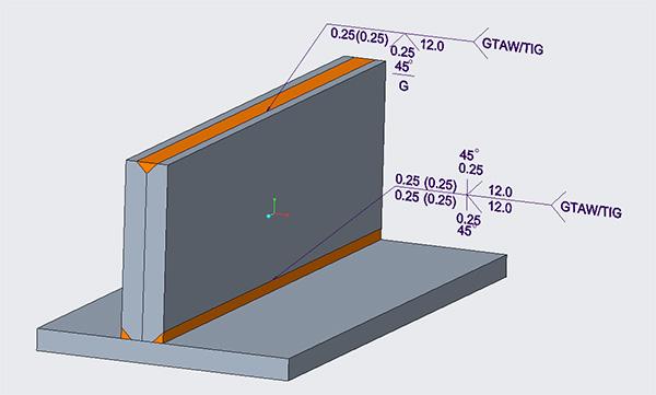 in-class example Creo groove weld
