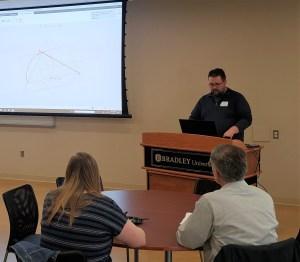 Jon at 2019 Peoria PTC User Group