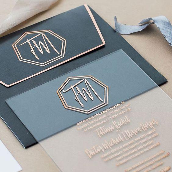 10 Incredibly Unique Wedding Invitations Design Fixation