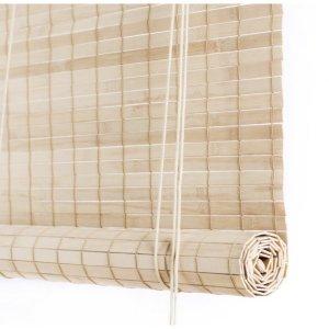 Color Co Lys brun bambus rullegardin
