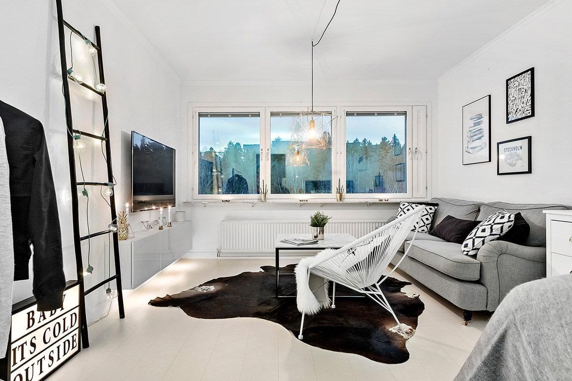 дизайн квартиры в скандинавском стиле 6
