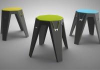 Marek Harmata – Toojo flexible stool furniture