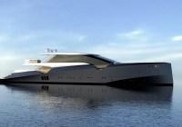 50m amnesia yacht concept blends cl…