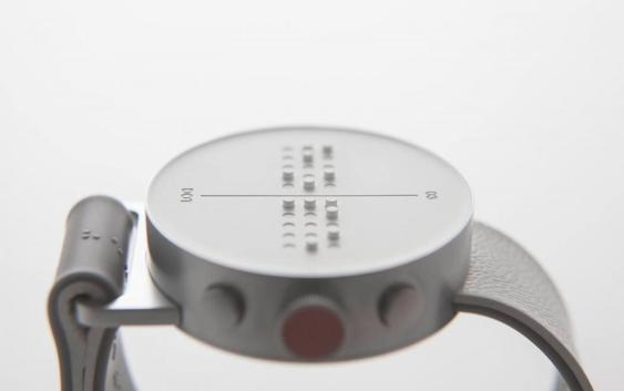 Montre Braille par CloudandCo design studio