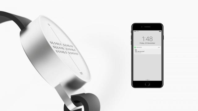 Smartwatch Braille et son application mobile