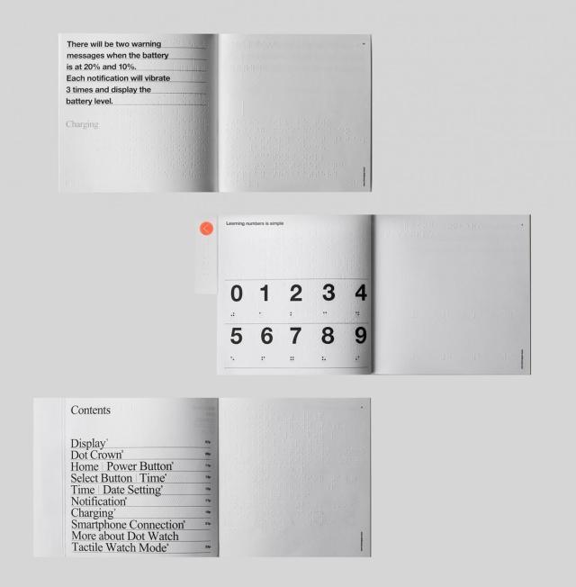 Manuel de l'utilisateur de la Smartwatch Braille